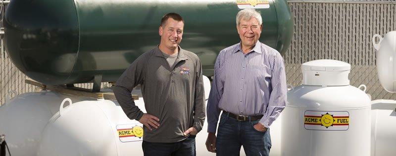 Propane Tank Sales, Leases & Sizes - Acme Fuel Company