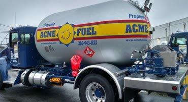 Acme Propane Delivery Truck Olympia, Thurston, Mason County, WA