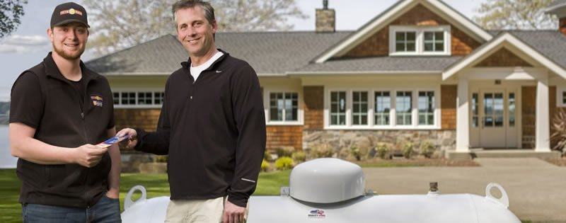 Best Propane Free Delivery Thurston and Mason County Washington State