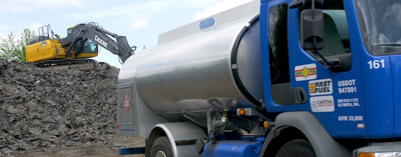 Commercial Fuel supply deliver thurston mason county Washington State