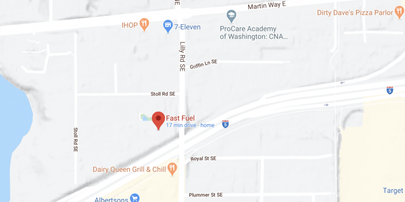 Lilly Rd Fast Fuel Gas Station Map